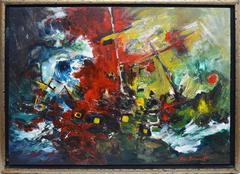 The Lord Nelson, Abstract Composition by Eric Bancroft