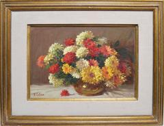 Impressionist Flower Still Life by Rudolph Colao