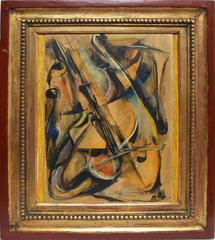 Cubist Still Life with Violin