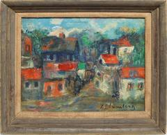 French Modern Cityscape