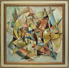 Cubist Abstraction by Norman Eppink