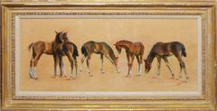 Study of Horses by Walt Wooten