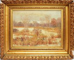 Winter landscape by R.E. Pike