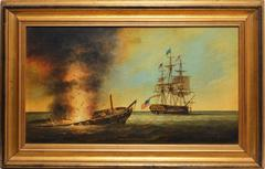 "Naval Battle, ""The Constitution and Java"", by Brian Coole"