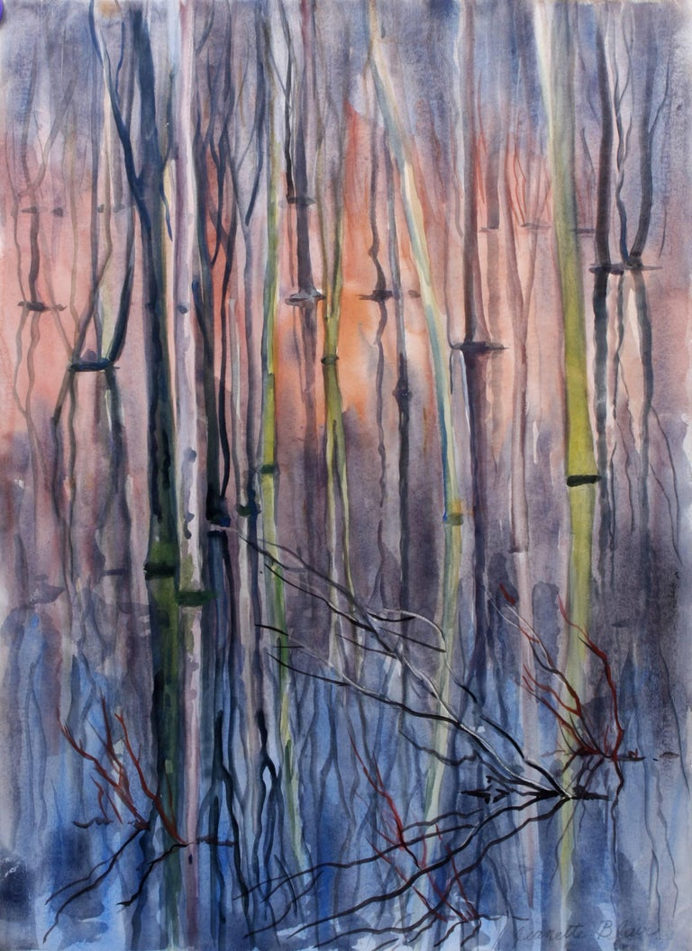Jeanette Blair Landscape Art - Electric Swamp Alabama