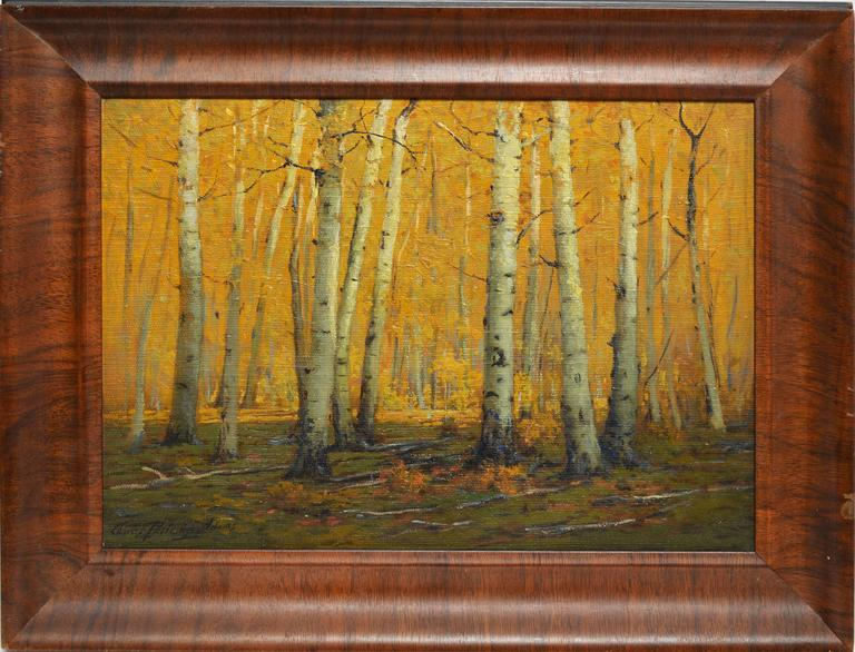 Charles Partridge Adams A Path Thru The Aspen Woods By
