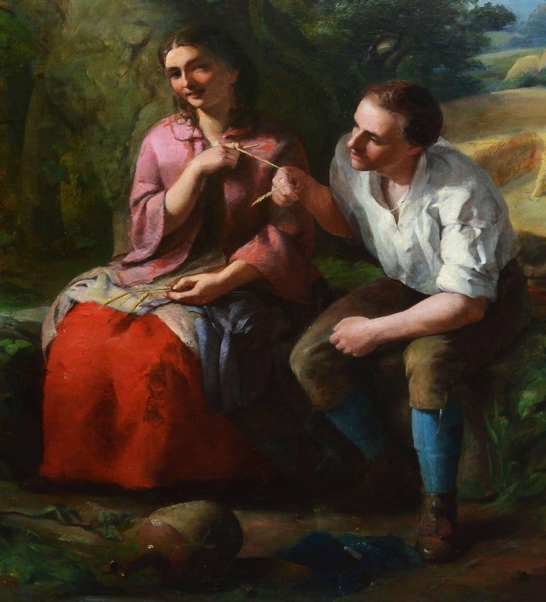 American School, Portrait of a Young Couple,