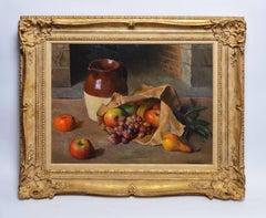 Fruit Still Life by Robert Brackman