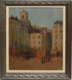 Parisian Street View by Frank Edwin Scott