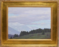 Mountain Landscape by Andrew Thomas Schwartz