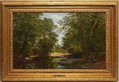 The Secluded Pool by George Stanfield Walters