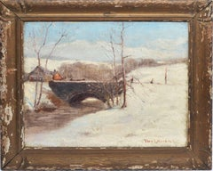 Modernist Winter Landscape by Thomas Lorraine Hunt