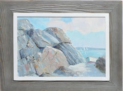 New England Coastal View by Clifford Thurber