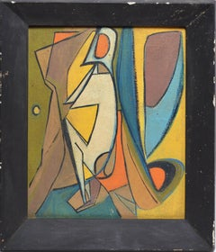 Early American School Cubist Abstraction