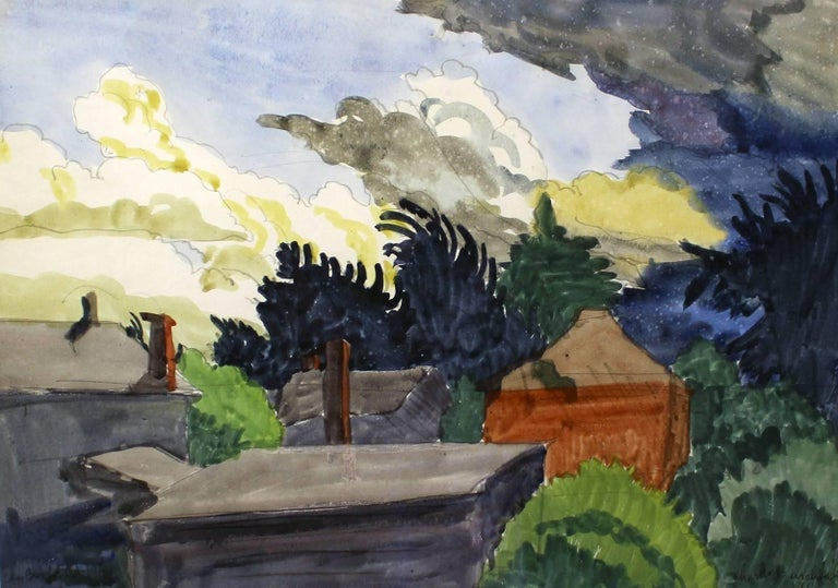 Charles E. Burchfield - Before the Storm 1