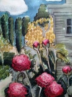 The Artist's Backyard