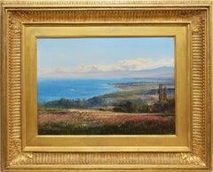 View of Lake Geneva, Switzerland by Henry Moore