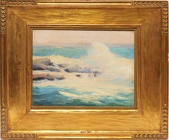 California Crashing Waves by Leon Bonnet