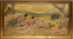 Scouting the Buffalo, Western Native American School Landscape