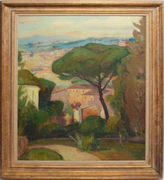 Modernist View of Florence Italy