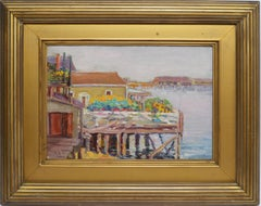 New England Harbor by Mary Kirkup