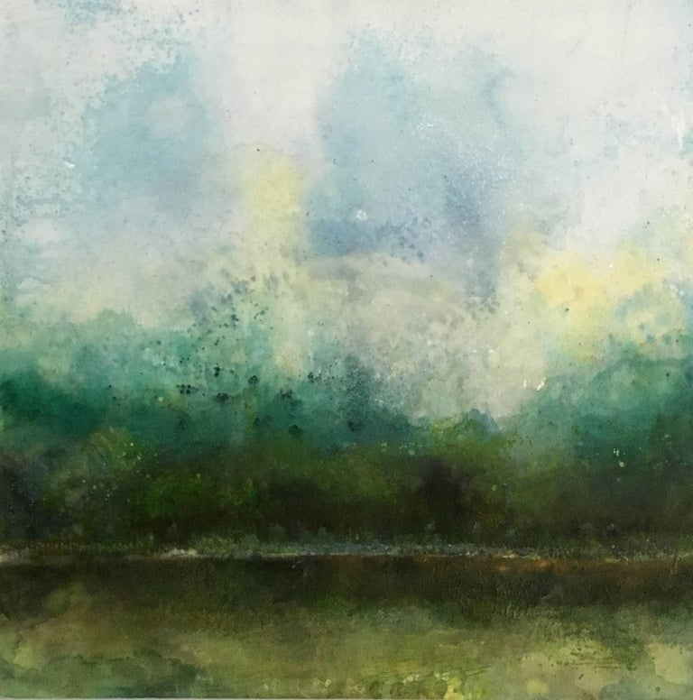 Monica Angle Abstract Painting - Meadow Path