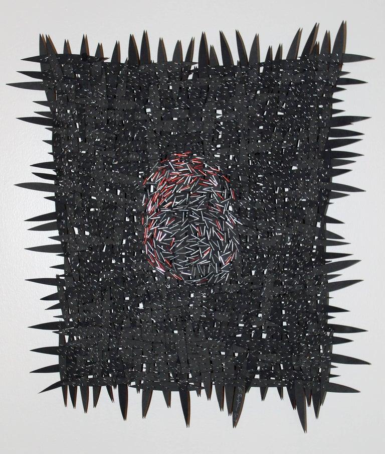 Fingerprint - Mixed Media Art by Jozef Bajus