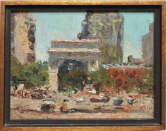 View of Washington Square Park by Bernard Lennon