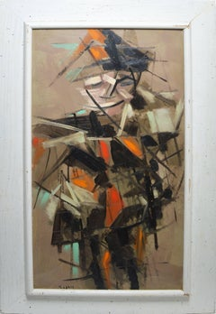 Cubist Figure by Kasan