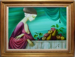 Surreal Portrait with Fruit by Philippe Auge