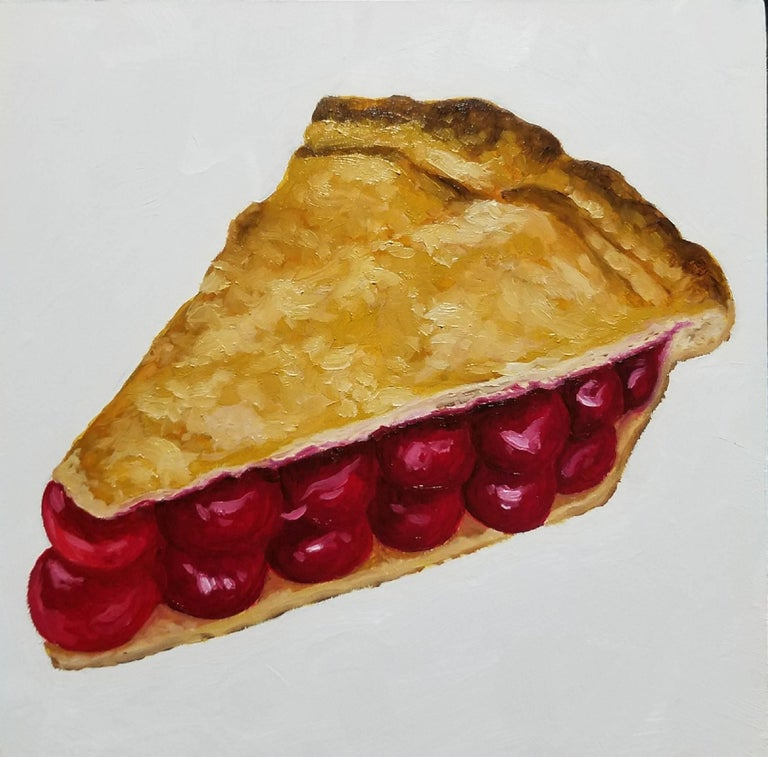 A.J. Fries Still-Life Painting - Damn Fine Cherry Pie