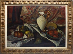 Modernist Kitchen Still Life with Fruit by Leo Quanchi