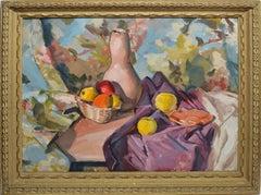 Modernist Fruit Still Life
