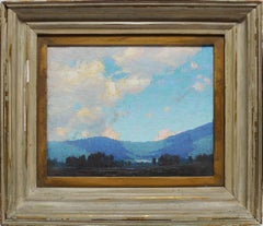 Summer Day, Panoramic Impressionist Landscape by Allen Dean Cochran