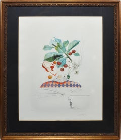 "Salvador Dalí - Cerises Pierrot, from ""FloriDali: Les Fruits"""