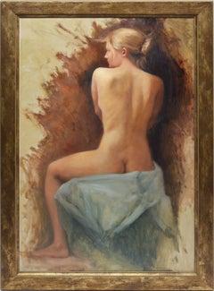 Portrait of a Nude Woman by Guy Hoff