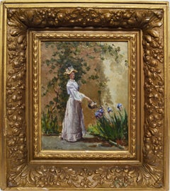 Watering the Flowers by Letitia Bonnet Hart