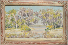 View of a Swamp by Ellsworth Woodward