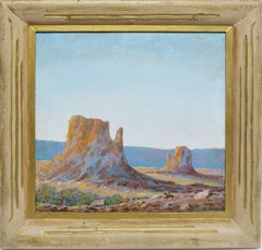 Impressionist Western Landscape of Monument Valley, Arizona  by Clark True