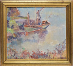 View of Marblehead Massachusetts by Louise Snow