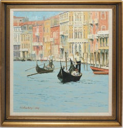 View of Venice by Harry E Buckley