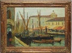 Impressionist View of Venice by Luigi Pagan