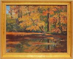 Fall River Landscape by Francis Willard Bancroft