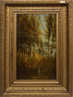 Early American Landscape with Figures