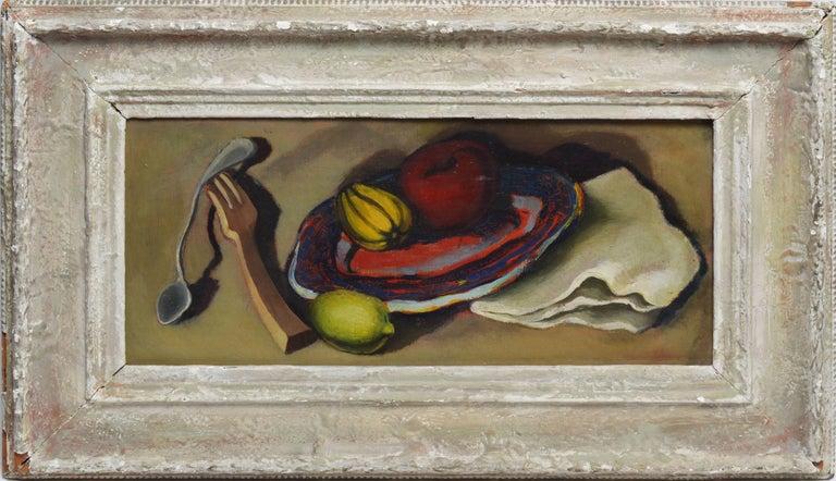 Early American Modernist School Fruit Still Life