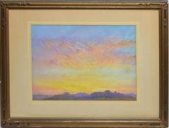 Southwestern Desert Sunset Landscape by Joe Waano-Gano