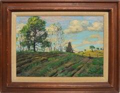 Summer Farm Landscape