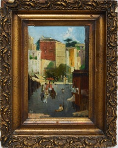 Antique Italian School Cityscape