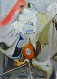 American School Abstract Expressionist Composition