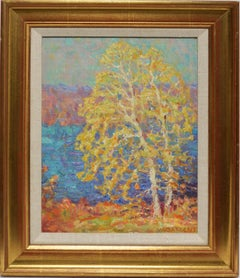 Impressionist Fall Landscape by Walter Sargent
